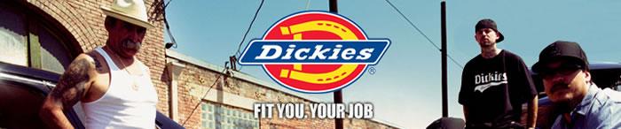 【DICKIES/ディッキーズ】ワークウェアを扱うブランドとして世界中で愛される
